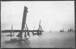 1912 Sweden Stockholm Olympics Official Postcard No 316 Sailing Race Start - Olympic Games