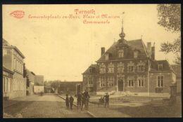 Z05 - Belgium - Ternat / Ternath - Gemeenteplaats En Huis / Place Communale Et Maison - Used 1914 - Ternat