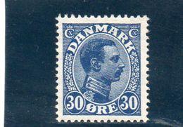 DANEMARK 1921-30 * - 1913-47 (Christian X)
