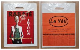 Sac/zak Rabaté Ibicus Prix 99 Des Libraires Canal BD (Vents D'Ouest Le Yéti) - Zonder Classificatie