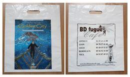 Sac/zak Malfin Golden City (Delcourt Néopolis  BD Fugue) - Livres, BD, Revues