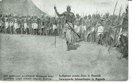 RUANDA URUNDI-INDIGENES ARMES - Ruanda-Urundi