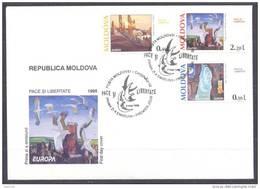 1995. Moldova, Europa 1995, FDC, Mint/** - 1995