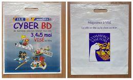 Sac/zak Roba Batem La Ribambelle L'île Axion CYBER BD 3,4,5 Mai 1996 - Boeken, Tijdschriften, Stripverhalen