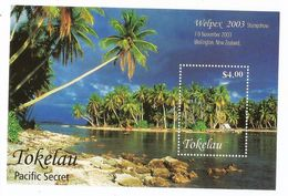 2003 Tokelau  Tourism Palm Trees Welpex Souvenir Sheet  MNH - Trees