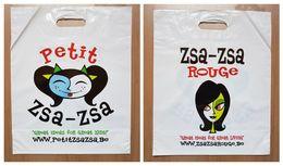 Sac/zak Petit Zsa-Zsa Rouge - Boeken, Tijdschriften, Stripverhalen