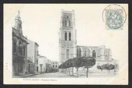 PONT SAINT ESPRIT Place St Pierre (LDT) Gard (30) - Pont-Saint-Esprit