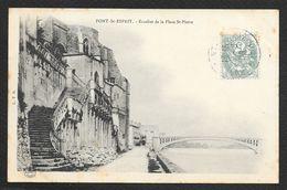 PONT SAINT ESPRIT Escalier De La Place St Pierre (LTD) Gard (30) - Pont-Saint-Esprit