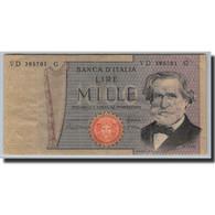 Italie, 1000 Lire, 1969-1971, KM:101g, 1980-02-20, TB - [ 2] 1946-… : République