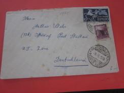 WW2 1945 -Lettera-Lettre Trafoi/Italia Italie 44-45 République Sociale Poste Exprèsse Marcophilie,UT Zone Deutschland - 4. 1944-45 Repubblica Sociale