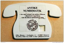 Taquin - Pousse Pousse - Antike Numismatik - Forme Téléphone - Allemagne - Brain Teasers, Brain Games