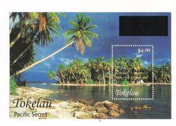 2004 Tokelau New Zealand PM Visit OVERPRINT Palm Trees Tourism  Souvenir Sheet  MNH - Tokelau