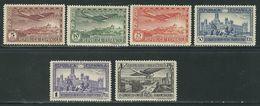 ESPAGNE N° PA 84 à 89 * - Unused Stamps