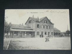 MONTDIDIER   1910  /   LA GARE FACADE   / CIRC OUI - Montdidier