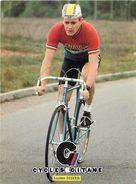 -ref V625 - Sports -cyclisme - Tour De France - Coureur Cycliste Sur Cycles Gitane - Lucien Didier -luxembourg  - - Unclassified