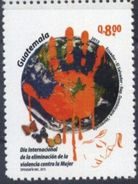 Guatemala 2015 ** Joint Issue. Eliminacion De La Violencia Contra La Mujer.  See Desc. - Guatemala