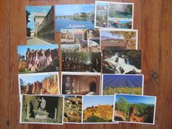 Lot De 15 Cartes Du Vaucluse ( 84 )        Avignon, Les Falaises D'Ocre, Fontaine Du Vaucluse, Cucuron, Ect... - Cartes Postales