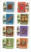 1995 Tokelau Handicrafts Definitives   Complete Set Of 8   MNH - Tokelau