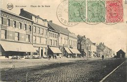 PIE 17.Des V-4961 : MOUSCRON  PLACE DE LA GARE - Mouscron - Moeskroen
