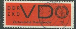 DDR VD Mi 3 X Gest. #1 D1-333 - DDR