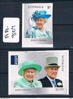 Australia 2017 Qe2 Birthday 2val P/s Ex Booklet Muh  AA807 - 2010-... Elizabeth II
