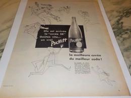 ANCIENNE PUBLICITE LIMONADE PSCHITT CUVEE 1958 - Posters
