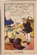 Humour Marine : 3 Cartes De Godreuil : Le Jus Les Lettres  Et Le Motif De Punition - Matelot - Humoristiques