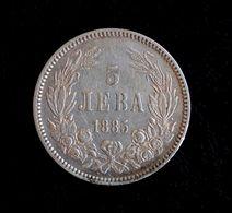 Bulgaria 5 Leva 1885 - Bulgaria