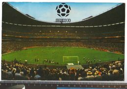 1970 - Mexico 70 - Stadio Azteca Di Città Del Messico - Viaggiata Verso Firenze - Grande Formato - Mexico