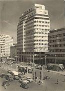 CASABLANCA    LA  PLACE  DE  FRANCE ( VOITURES 4 CV RENAULT CAMIONNETTE  CITROEN ET RENAULT ) - Casablanca
