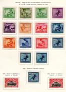 1925   Vloors, Métiers Et Industries Indigènes, 106 / 117 *, Cote 60 €, - Belgisch-Kongo