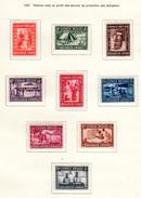 1930  Caritas « La Goutte De Lait », 150 / 158 *, Cote 70 €, - Belgisch-Kongo