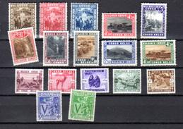 1931-42  Lot De Séries Complètes, Entre 168 Et 269 *, Cote 96 €, - Congo Belge