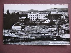 CPA PHOTO 07 BOURG SAINT ANDEOL Institution Saint Joseph Vue Générale RARE PLAN ? 1957 - Bourg-Saint-Andéol