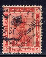 ET+ Ägypten 1922 Mi 70 Kleopatra Aufdruck - Ägypten