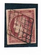 "N°6 Carmin ""Faux De  SPERATI"" - 1849-1850 Ceres"