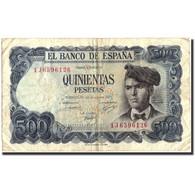 Espagne, 500 Pesetas, 1971, KM:153a, 1971-07-23, TB+ - [ 3] 1936-1975: Regime Van Franco