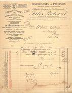 Instruments Scientifiques Et Industriels - Jules Richard Instruments De Précision - Paris - 1923 - VR_C2_3 - Francia