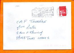 Puy De Dome, La Bourboule, Flamme N° 6862, - Marcophilie (Lettres)