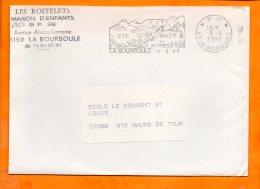 Puy De Dome, La Bourboule, Flamme N° 6862, Port Payé - Marcophilie (Lettres)