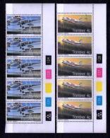 TRANSKEI, 1977, Mint Never Hinged Stamps In Control Blocks, MI 22-23 , Transkei Airways, X202 - Transkei