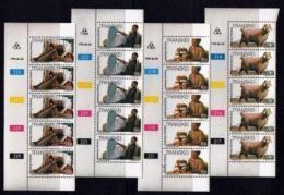 TRANSKEI, 1978, Mint Never Hinged Stamps In Control Blocks, MI 37-40 , Weaving, X207 - Transkei