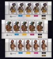 TRANSKEI, 1979, Mint Never Hinged Stamps In Control Blocks, MI 62-64 , Child Health, X214 - Transkei