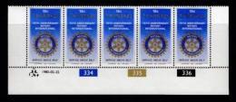 TRANSKEI, 1980, Mint Never Hinged Stamps In Control Blocks, MI 70 , Rotary, X215 - Transkei