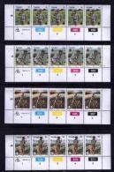 TRANSKEI, 1982, Mint Never Hinged Stamps In Control Blocks, MI 103-106, Boy Scouts, X221 - Transkei