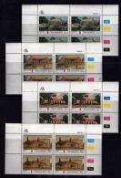 TRANSKEI, 1984, Mint Never Hinged Stamps In Control Blocks, MI 155-158,Postoffices,  X230 - Transkei