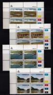 TRANSKEI, 1985, Mint Never Hinged Stamps In Control Blocks, MI 168-171, Bridges,  X233 - Transkei