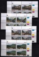 TRANSKEI, 1986, Mint Never Hinged Stamps In Control Blocks, MI 180-183, Port St. Johns,  X236 - Transkei