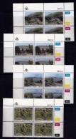 TRANSKEI, 1986, Mint Never Hinged Stamps In Control Blocks, MI 189-192,  Hydro Electric Power,  X238 - Transkei
