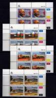 TRANSKEI, 1986, Mint Never Hinged Stamps In Control Blocks, MI 193-196,  10th Year Independence,  X239 - Transkei